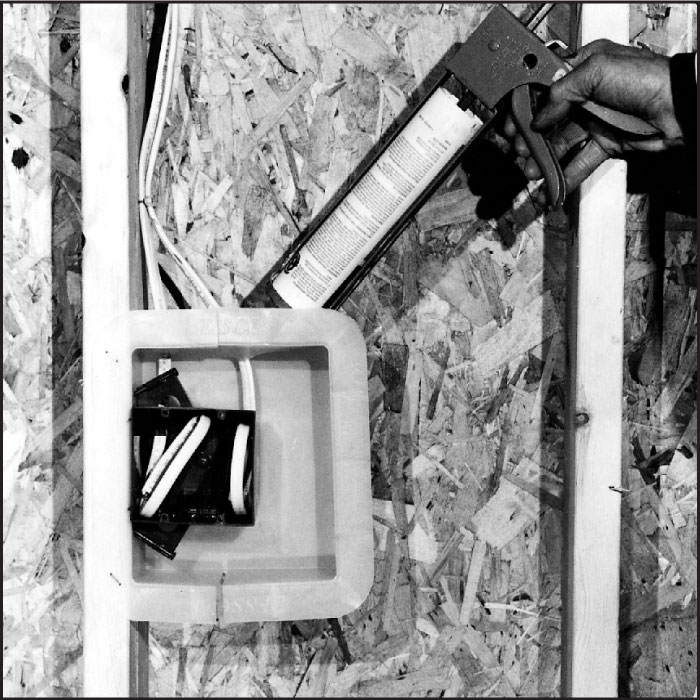 Lessco Air Vapor Barrier Box Installation Instructions
